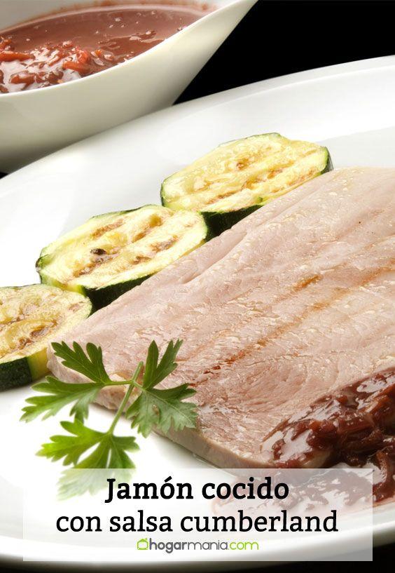 Receta de jam n cocido con salsa cumberland karlos argui ano - Salsa para bogavante cocido ...