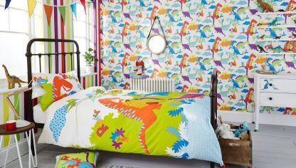 Decorar paredes con papel pintado estilo r stico hogarmania - Papel para decorar habitaciones ...
