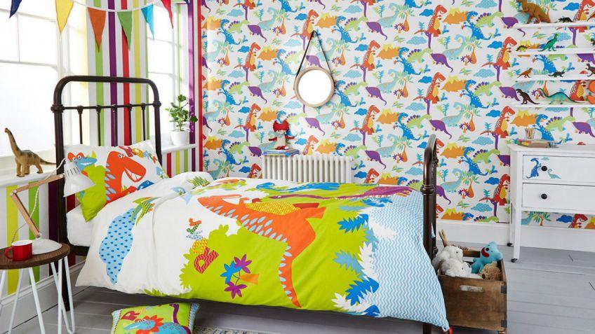 Papel pintado para paredes de habitaciones infantiles - Hogarmania