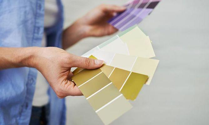 La regla 60-30-10 para combinar colores - Hogarmania