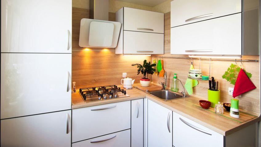 Amueblar cocina pequea alargada fabulous aunque menos - Amueblar cocinas pequenas ...