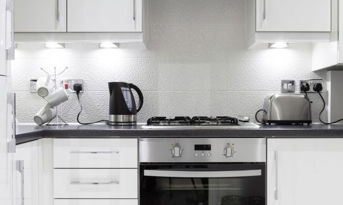 Trucos para cocinas peque as hogarmania for Soluciones para cocinas pequenas