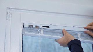 Colocar veneciana en ventana oscilobatiente