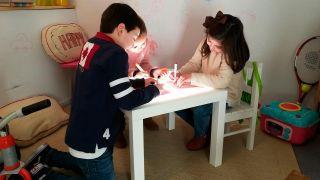 Cómo hacer una mesa de luz