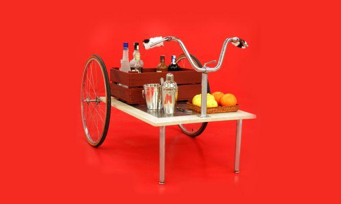 Hacer un carrito de bebidas decogarden - Carrito bebidas ...