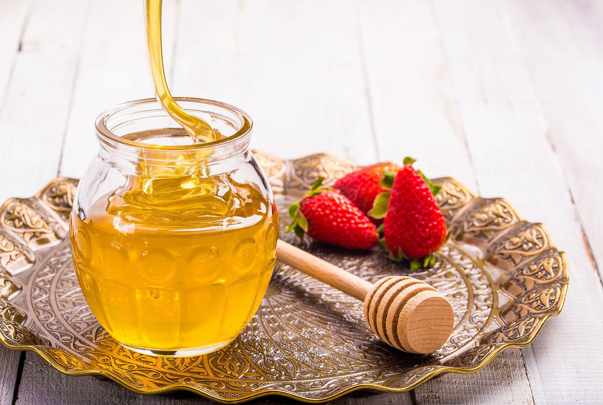 mascarillas fresas miel