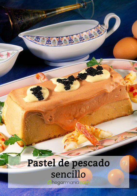 Pastel de pescado sencillo