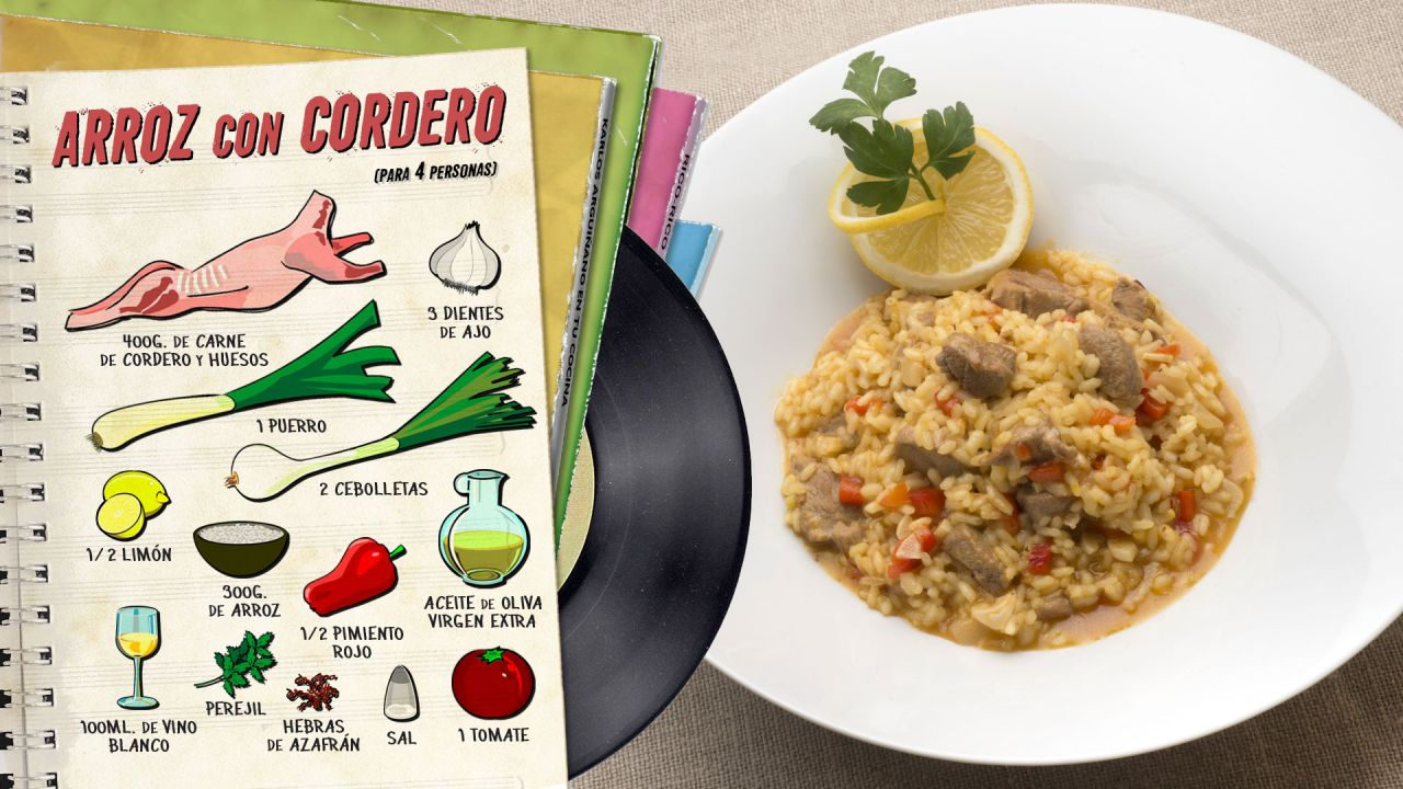 Arroz con cordero - Ingredientes
