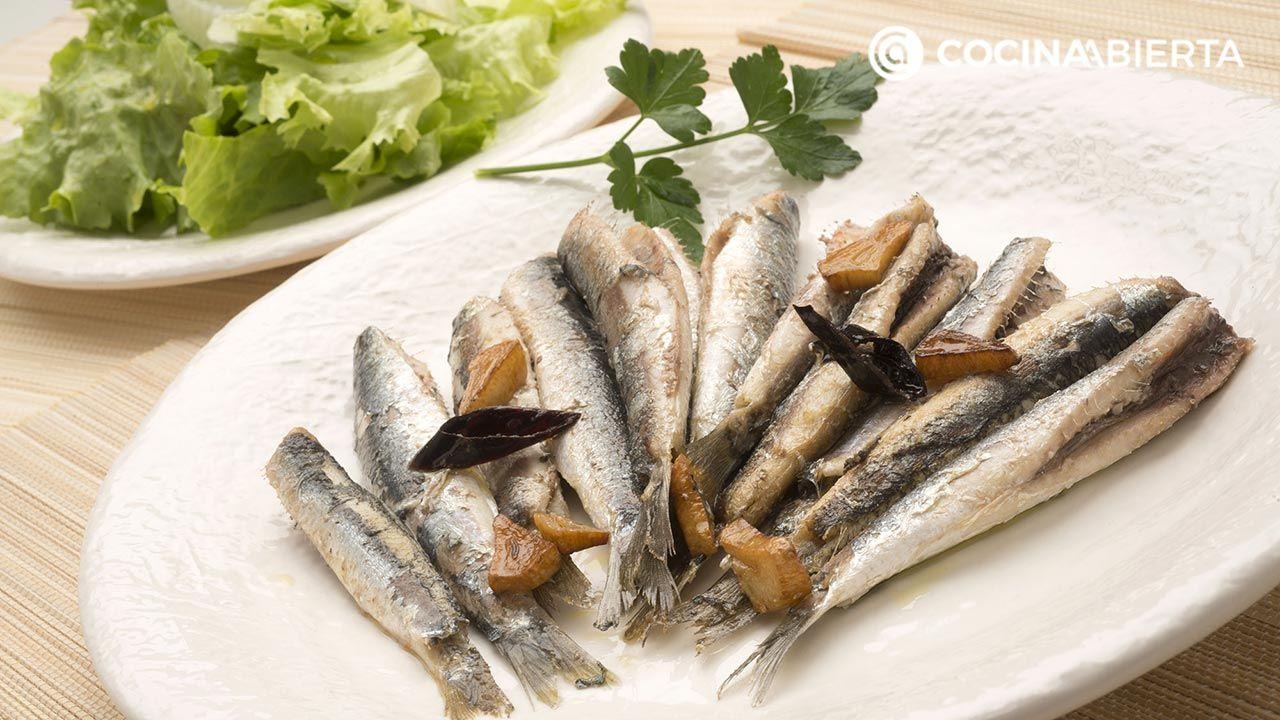 anchoas fritas