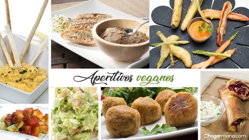7 aperitivos y entrantes veganos Hogarmania