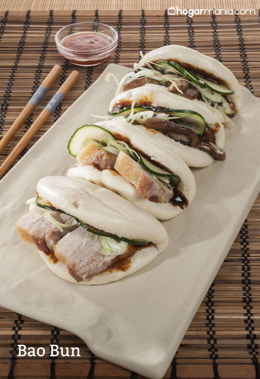receta de Bao Bun