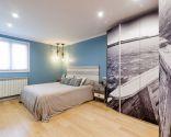 Dormitorio moderno de estilo marinero