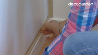 Decorar un dormitorio juvenil rústico en color rosa, ¡con estores de mandalas! - Paso 3