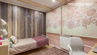 Decorar un dormitorio juvenil rústico en color rosa, ¡con estores de mandalas! - Paso 10