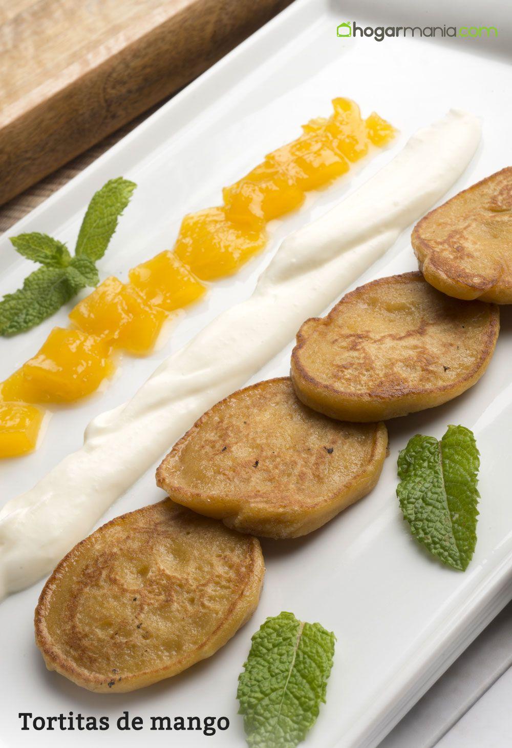 Tortitas de mango