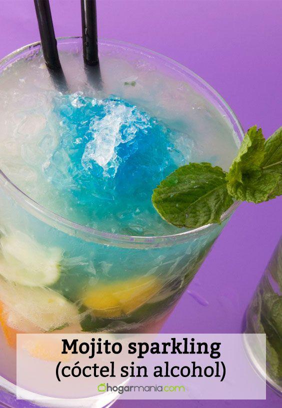 Mojito sparkling (cóctel sin alcohol)
