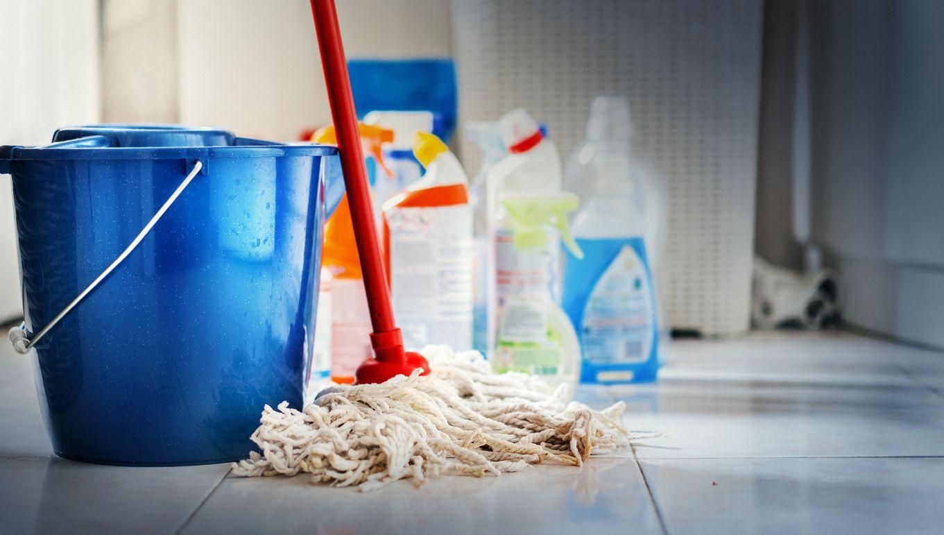 Claves para organizar el espacio de limpieza