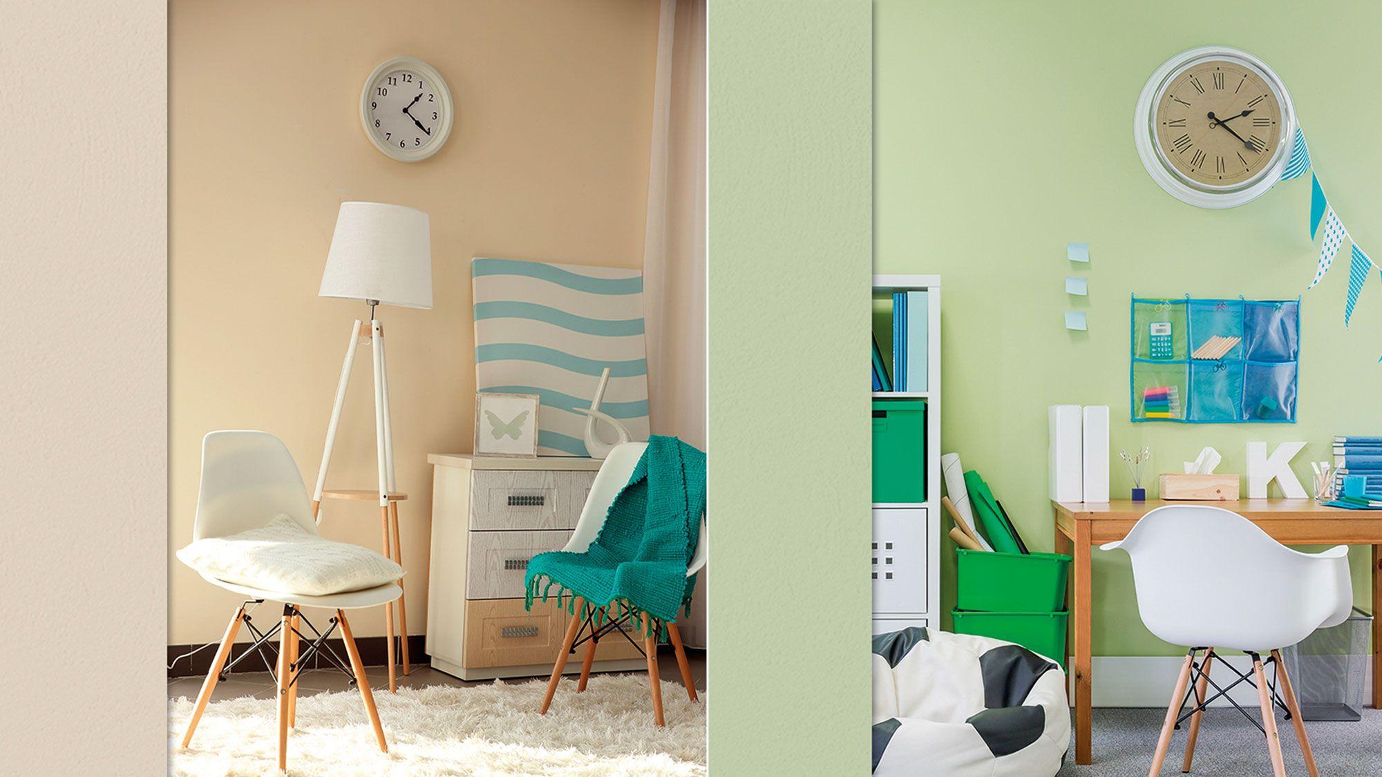 Pintura ecol gica para interior y exterior hogarmania for Pintura pared interior colores