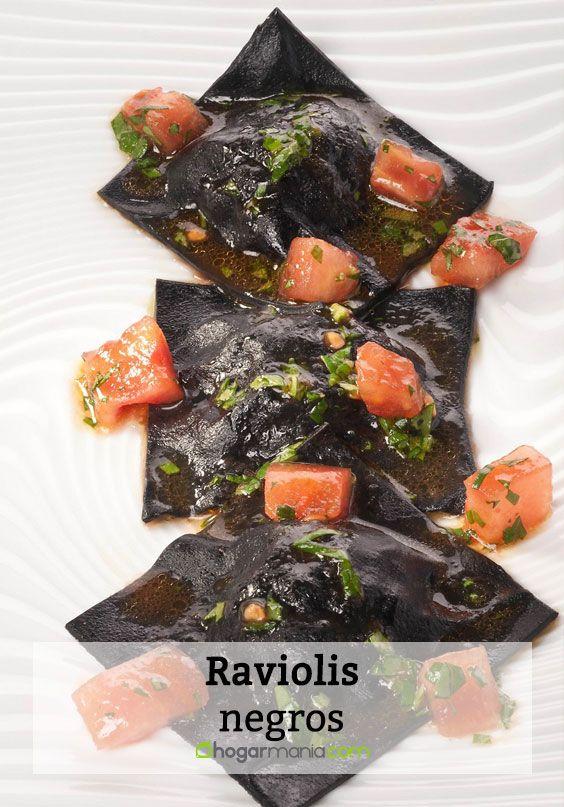 Raviolis negros