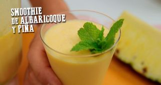 Smoothie de albaricoque y pi�a