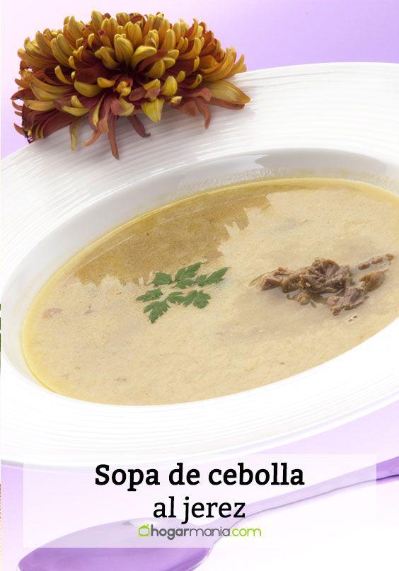 Sopa de cebolla al jerez
