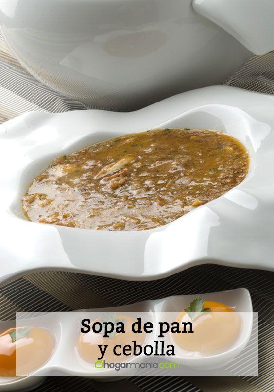 Sopa de pan y cebolla