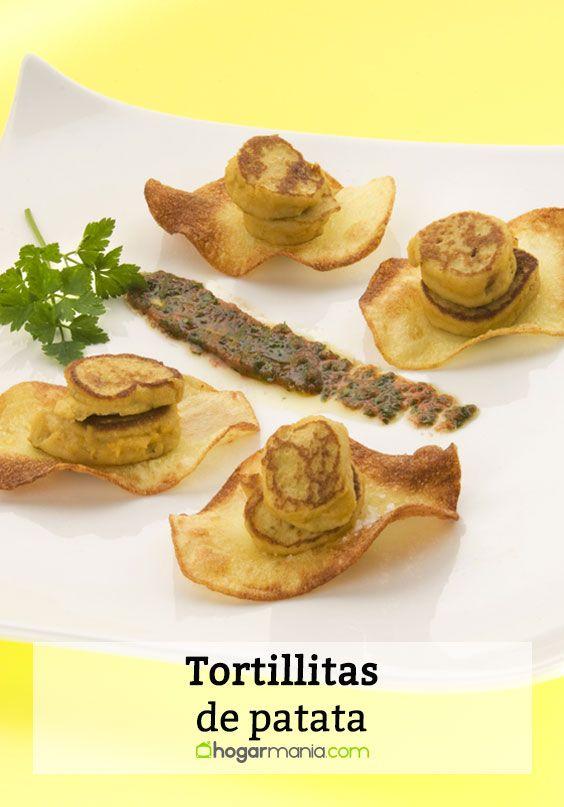 Tortillitas de patata de Arzak