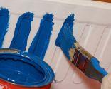 Cómo pintar una jardinera de terracota