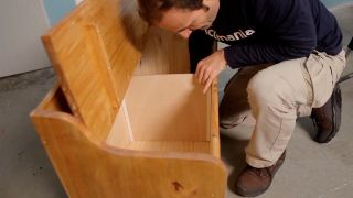 Cómo hacer un separador para un baúl
