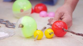 Capsulas de enraizamiento para reproducir plantas por acodo aéreo - Diferentes tamaños de esferas