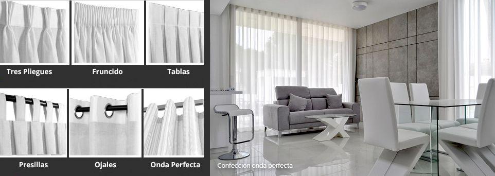 Cortinas para las ventanas - confecciones