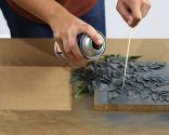 Cómo hacer cuadros con hojas y pintura
