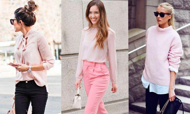94b598d9ad Cómo llevar la moda color rosa palo - Hogarmania