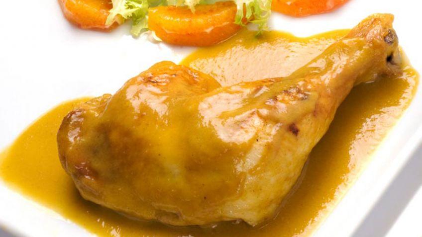 Receta de Muslos de pollo a la naranja - Karlos Arguiñano