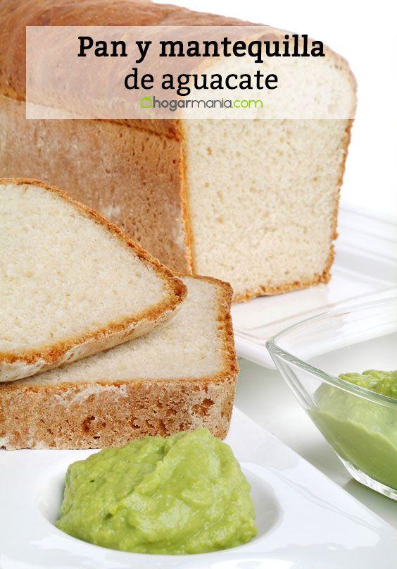 Pan y mantequilla de aguacate