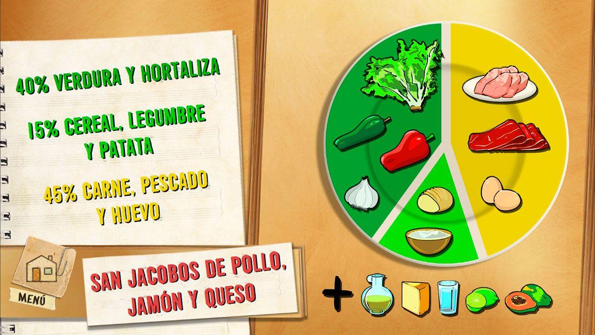 San Jacobos de pollo, jamón y queso