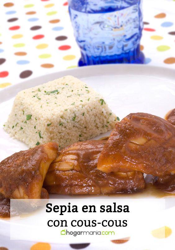 Sepia en salsa con cous-cous
