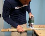 Cómo hacer un jarrón de bambú - Paso 2