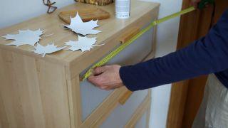 Cómo renovar el frente de un cajón con motivos otoñales