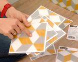 colocar losetas adhesivas - paso 1