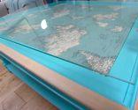 mesa mapamundi - paso 5