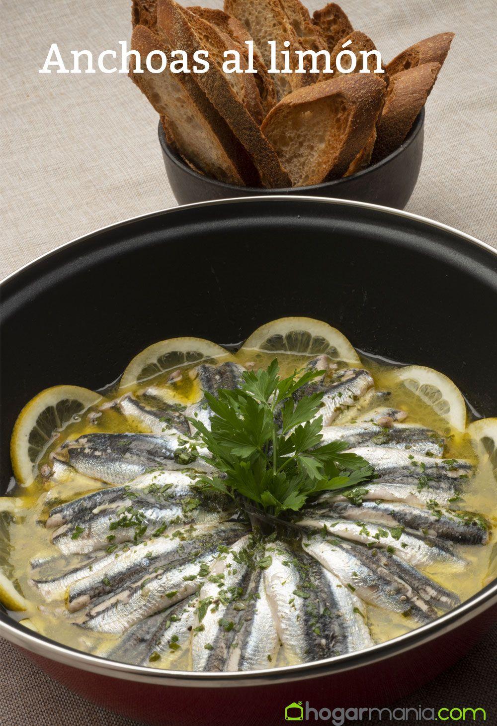 anchoas al limón