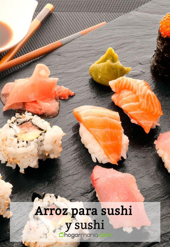 Receta de Arroz para sushi y sushi