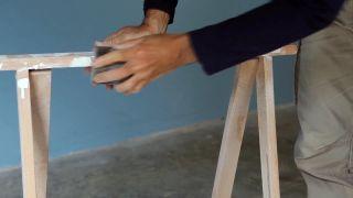 Cómo transformar un caballete en una consola