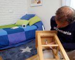 Cómo hacer una mesilla con un taburete - Paso 4
