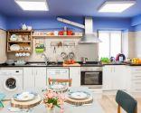 decorar cocina rústica - después