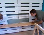 sala juvenil mueble palets - paso 4