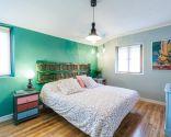 dormitorio juvenil con muebles reciclados - después
