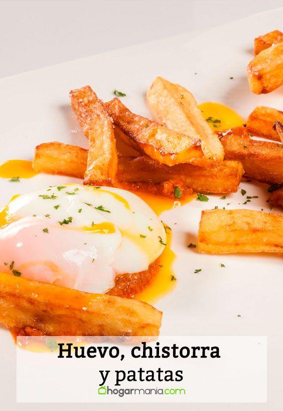 Receta de Huevo, chistorra y patatas