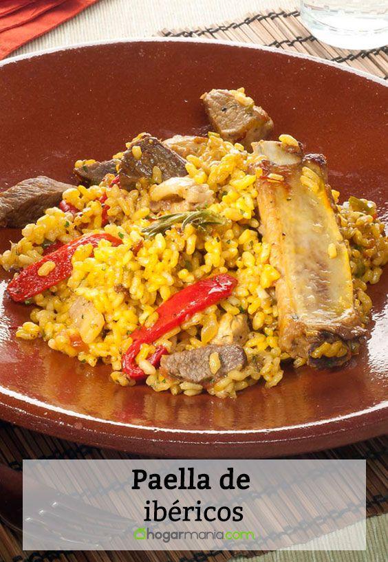 Receta de Paella de ibéricos